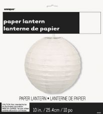 Lantern Decoration In White